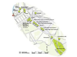 Mapa para a fábrica