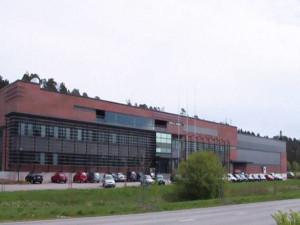 Fábrica na Finlândia